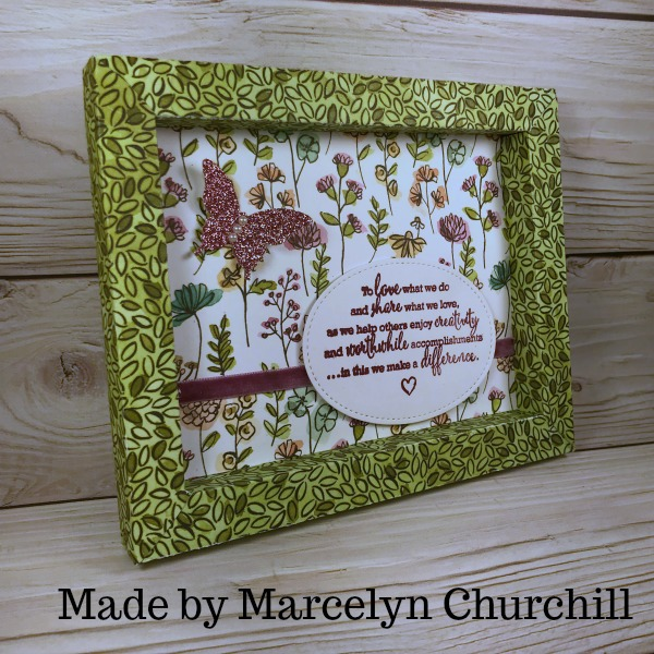 How To Make A Paper Frame Stamping Mom